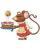 muizen - hangende figuren